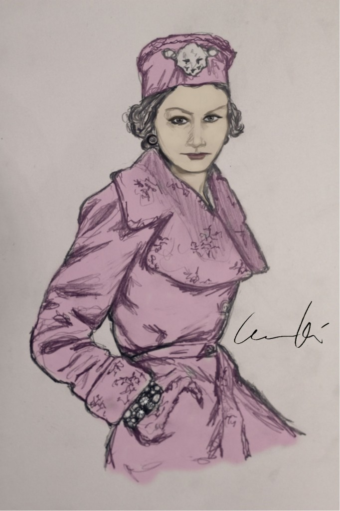 Coco Chanel Isabella Kilenstm Inkwardrobe