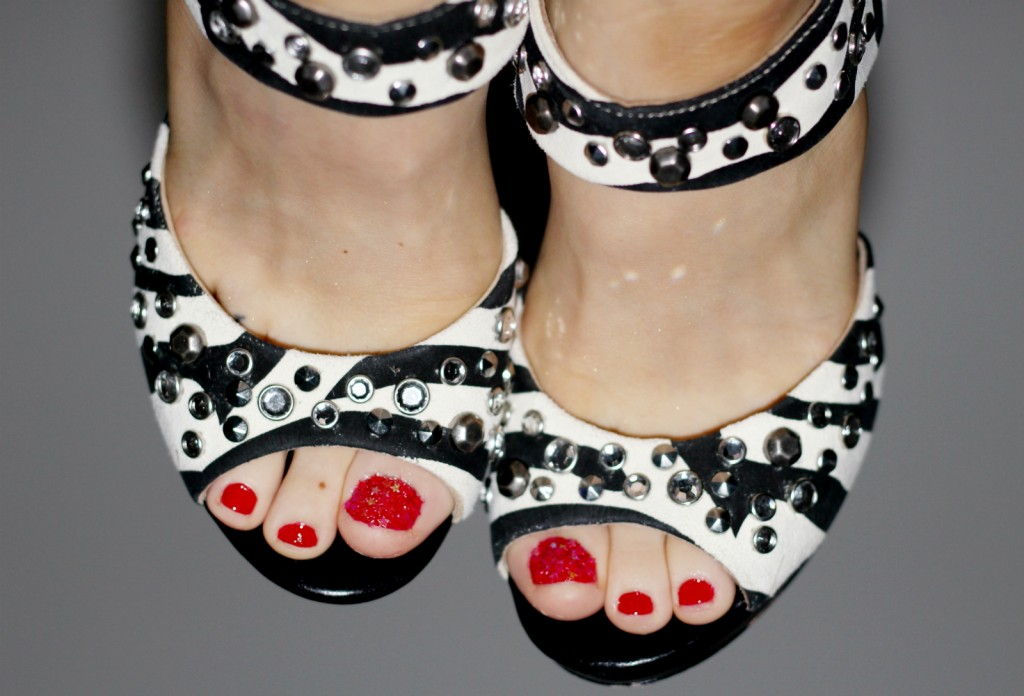 Isabella Kilenstam Inkwardrobe Pedicure Red Jimmy Choo
